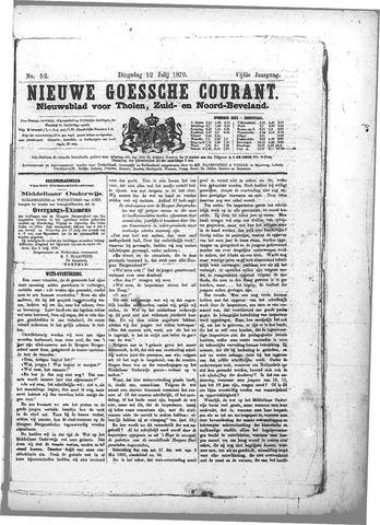 Nieuwe Goessche Courant 1870-07-12