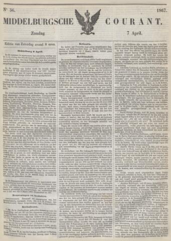 Middelburgsche Courant 1867-04-07