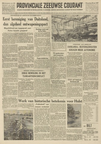 Provinciale Zeeuwse Courant 1957-05-29