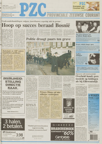 Provinciale Zeeuwse Courant 1995-11-21