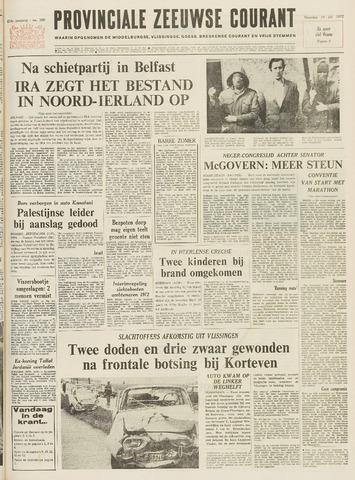 Provinciale Zeeuwse Courant 1972-07-10