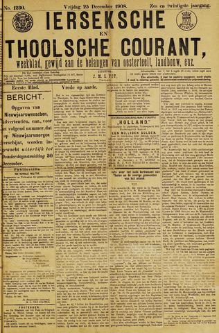 Ierseksche en Thoolsche Courant 1908-12-25