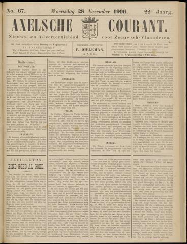 Axelsche Courant 1906-11-28