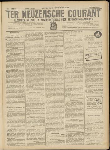 Ter Neuzensche Courant. Algemeen Nieuws- en Advertentieblad voor Zeeuwsch-Vlaanderen / Neuzensche Courant ... (idem) / (Algemeen) nieuws en advertentieblad voor Zeeuwsch-Vlaanderen 1937-11-26