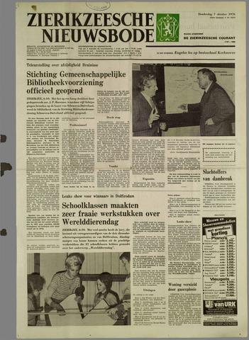 Zierikzeesche Nieuwsbode 1976-10-07