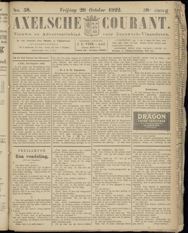 Axelsche Courant 1922-10-20