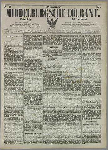 Middelburgsche Courant 1891-02-14