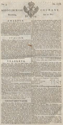 Middelburgsche Courant 1758-05-10