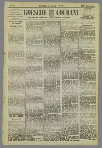 Goessche Courant 1919-01-04