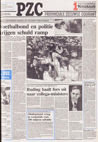 Provinciale Zeeuwse Courant 1989-04-17