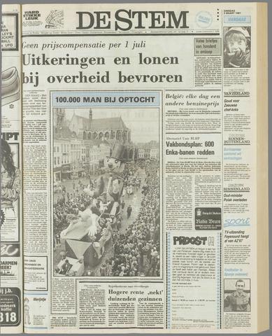 de Stem 1981-03-03