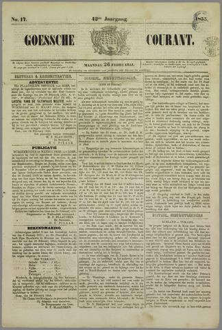 Goessche Courant 1855-02-26