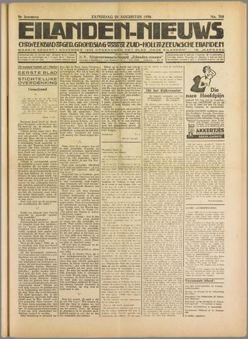 Eilanden-nieuws. Christelijk streekblad op gereformeerde grondslag 1936-08-29