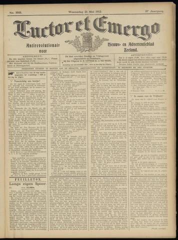 Luctor et Emergo. Antirevolutionair nieuws- en advertentieblad voor Zeeland / Zeeuwsch-Vlaanderen. Orgaan ter verspreiding van de christelijke beginselen in Zeeuwsch-Vlaanderen 1913-05-21