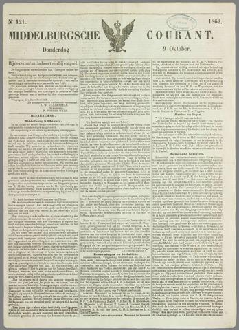 Middelburgsche Courant 1862-10-09