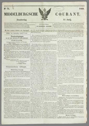 Middelburgsche Courant 1860-06-14