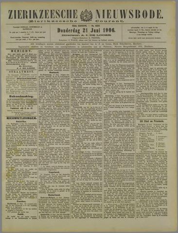 Zierikzeesche Nieuwsbode 1906-06-21