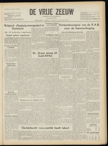 de Vrije Zeeuw 1953-10-15