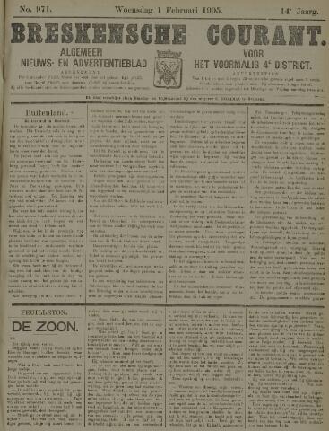 Breskensche Courant 1905-02-01