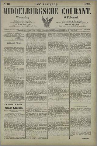 Middelburgsche Courant 1884-02-06