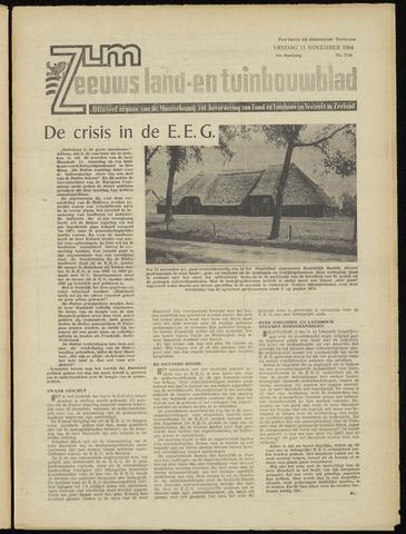 Zeeuwsch landbouwblad ... ZLM land- en tuinbouwblad 1964-11-13