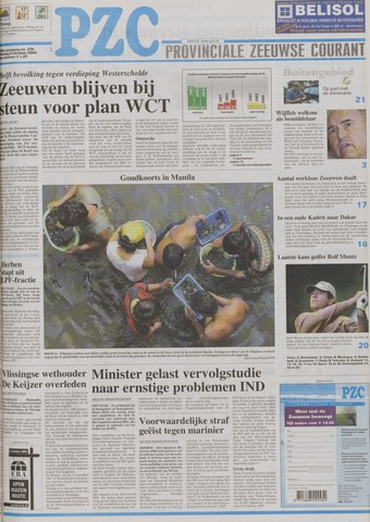 Provinciale Zeeuwse Courant 2004-10-05
