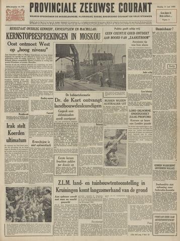 Provinciale Zeeuwse Courant 1963-06-11
