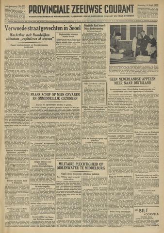 Provinciale Zeeuwse Courant 1950-09-18