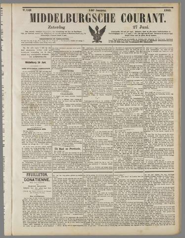 Middelburgsche Courant 1903-06-27