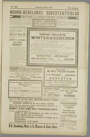 Noord-Bevelands Nieuws- en advertentieblad 1928-10-13