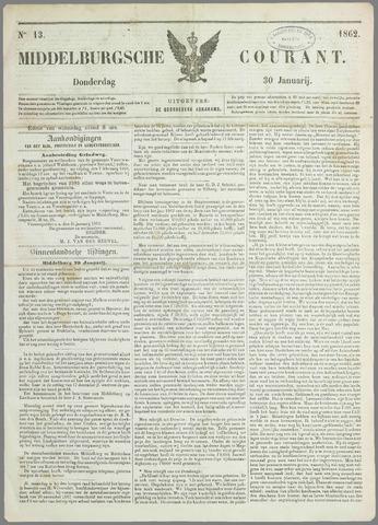 Middelburgsche Courant 1862-01-30