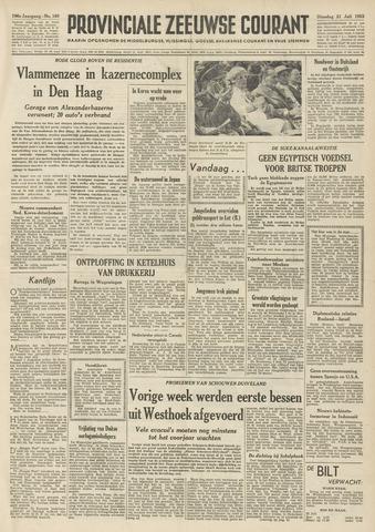 Provinciale Zeeuwse Courant 1953-07-21