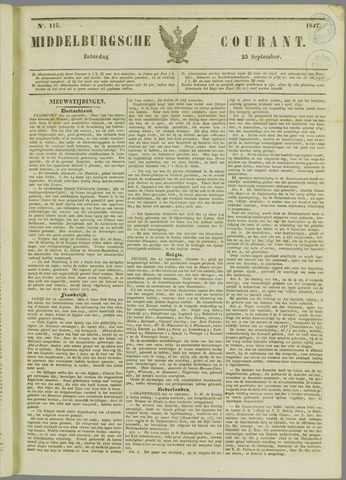 Middelburgsche Courant 1847-09-25