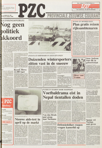 Provinciale Zeeuwse Courant 1988-03-14