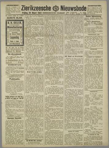 Zierikzeesche Nieuwsbode 1922-03-24