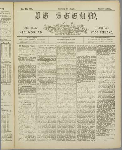 De Zeeuw. Christelijk-historisch nieuwsblad voor Zeeland 1898-08-18