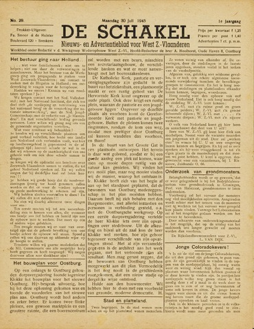 De Schakel 1945-07-30