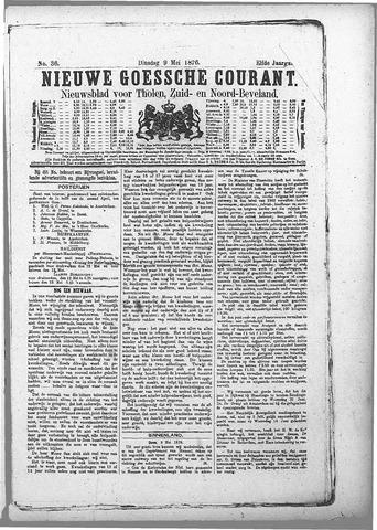 Nieuwe Goessche Courant 1876-05-09