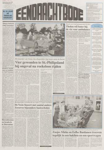 Eendrachtbode (1945-heden)/Mededeelingenblad voor het eiland Tholen (1944/45) 1999-07-08