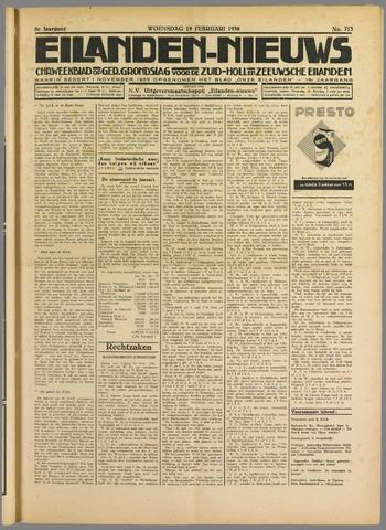 Eilanden-nieuws. Christelijk streekblad op gereformeerde grondslag 1936-02-19