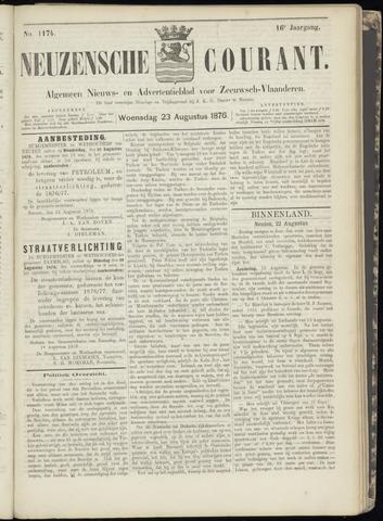 Ter Neuzensche Courant. Algemeen Nieuws- en Advertentieblad voor Zeeuwsch-Vlaanderen / Neuzensche Courant ... (idem) / (Algemeen) nieuws en advertentieblad voor Zeeuwsch-Vlaanderen 1876-08-23