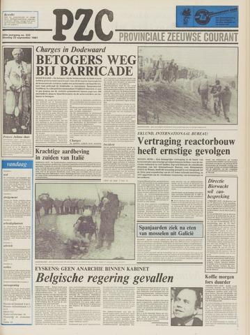 Provinciale Zeeuwse Courant 1981-09-22