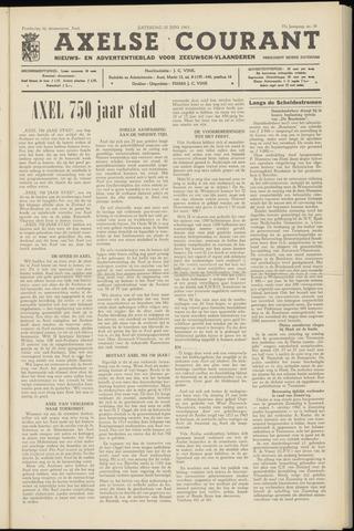Axelsche Courant 1963-06-22