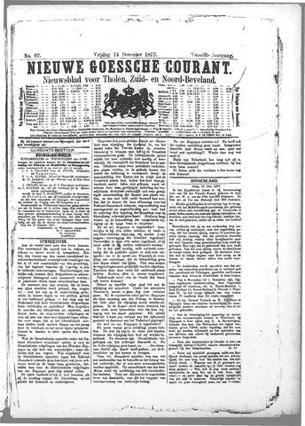 Nieuwe Goessche Courant 1877-12-14