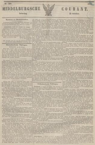 Middelburgsche Courant 1851-10-25