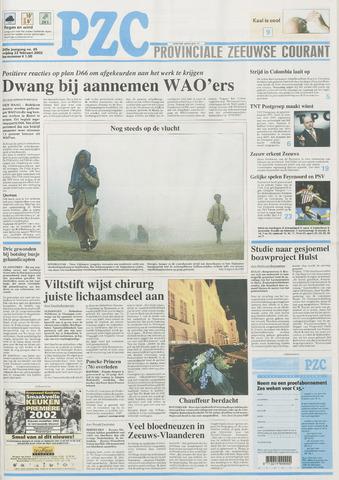 Provinciale Zeeuwse Courant 2002-02-22