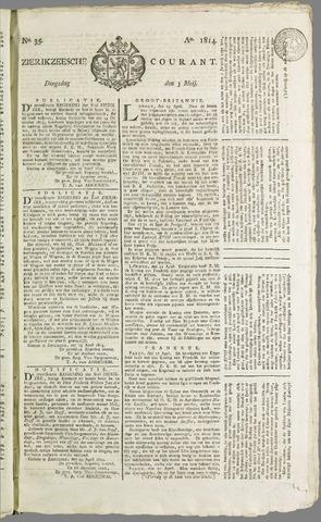 Zierikzeesche Courant 1814-05-03