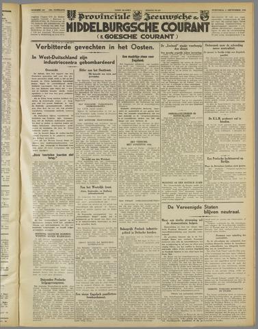 Middelburgsche Courant 1939-09-06