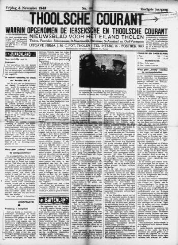 Ierseksche en Thoolsche Courant 1943-11-05