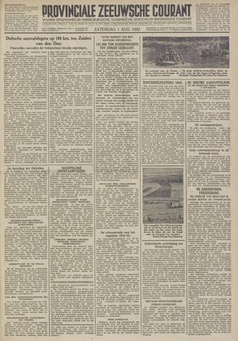 Provinciale Zeeuwse Courant 1942-08-01